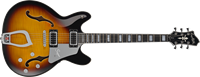 Hagström Super Viking SUVIK- Tobacco Sunburst