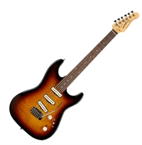 Godin Progression Vintage Burst Flame MN m/Bag