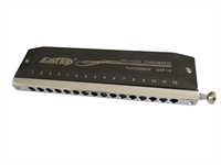 Easttop Chromatic Harmonica - EAP-16 PERFORMER - 16 hole - black