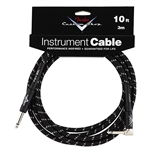 Fender 3m Custom Shop Performance Black Cable Angled