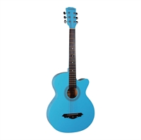 Western Guitar Norfolk STARTER LB light blue