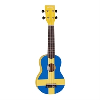 Santana Ukulele Beautiful Swedish Flag