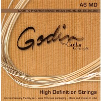Godin Guitar string package Fosfor Bronze A6 MD