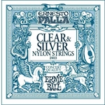 Ernie Ball EB2403 Clear and silver - Ernesto Palla