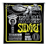 Ernie Ball EB-3121. Regular Slinky RPS Titanium Coated .010