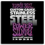 Ernie Ball EB-2245 Power Slinky Stainless Steel 0.011