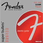 Fender elgitarr strängar. Regular 0.010 3250R